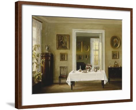 An Interior-Hans Hilsoe-Framed Art Print