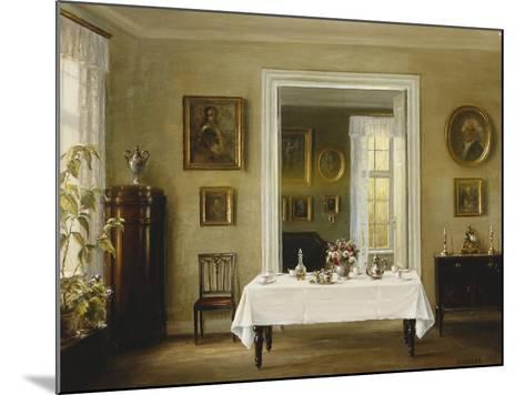 An Interior-Hans Hilsoe-Mounted Giclee Print