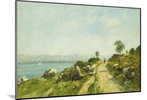 The Road, Antibes-Eug?ne Boudin-Mounted Giclee Print