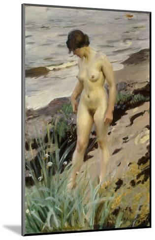 Sandhamn Study-Anders Leonard Zorn-Mounted Giclee Print