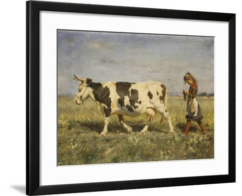 Off to Market-Hans Michael Therkildsen-Framed Art Print