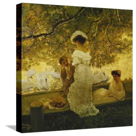 The Boating Trip-Gaston Latouche-Stretched Canvas Print