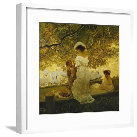 The Boating Trip-Gaston Latouche-Framed Art Print