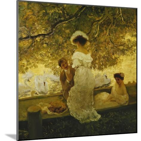 The Boating Trip-Gaston Latouche-Mounted Giclee Print