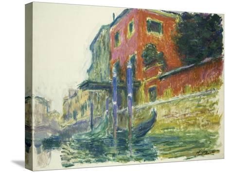The Red House-Claude Monet-Stretched Canvas Print