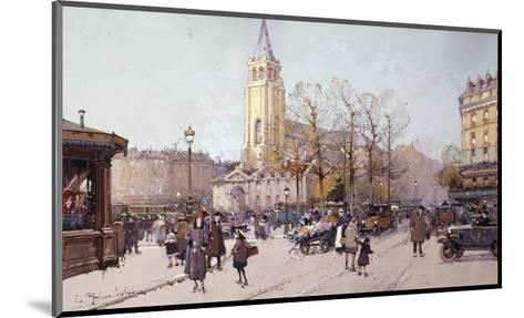 St. Germaine de Pres-Eugene		 Galien-Laloue-Mounted Giclee Print