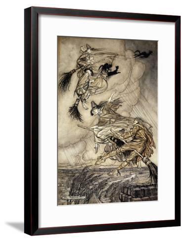 The Ingoldsby Legends: Frontispiece-Arthur Rackham-Framed Art Print