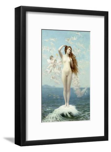 Venus Rising (The Star)-Jean Leon Gerome-Framed Art Print