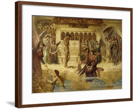 The Ramparts of God's House-John Melhuish Strudwick-Framed Art Print
