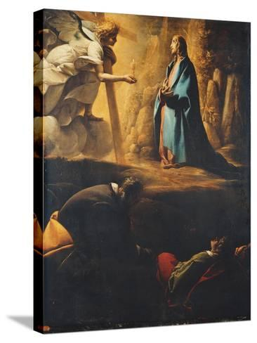 The Agony in the Garden-Pier Francesco Morazzone-Stretched Canvas Print