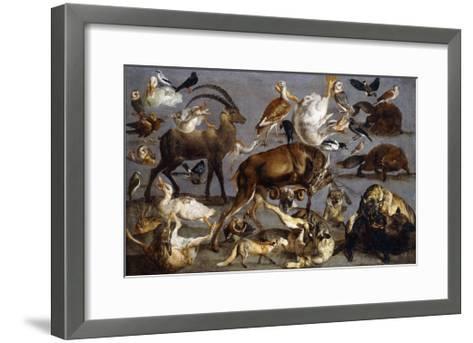 Studies of various Animals and Birds-Carl Borromaus Andreas Ruthart-Framed Art Print