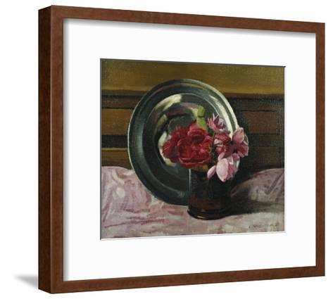Still Life with Roses-F?lix Vallotton-Framed Art Print