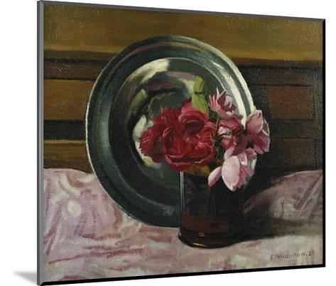 Still Life with Roses-F?lix Vallotton-Mounted Giclee Print