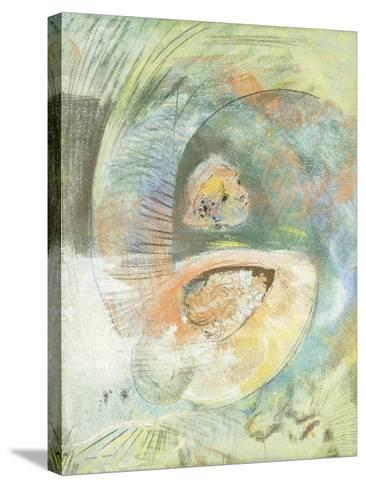 Monster Submarine-Odilon Redon-Stretched Canvas Print