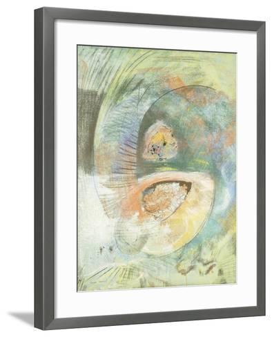 Monster Submarine-Odilon Redon-Framed Art Print