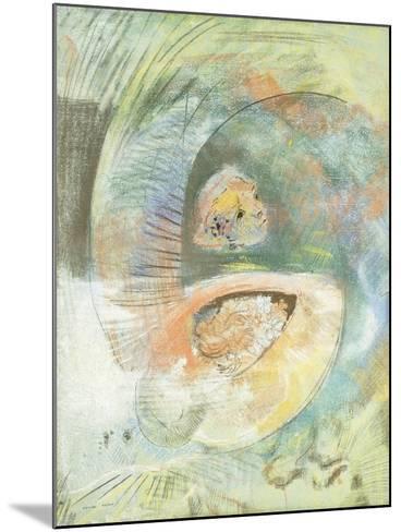 Monster Submarine-Odilon Redon-Mounted Giclee Print
