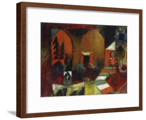 Child as a Hermit-Paul Klee-Framed Art Print