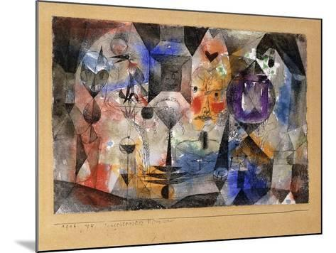 Concentrierter Roman-Paul Klee-Mounted Giclee Print
