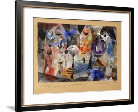 Concentrierter Roman-Paul Klee-Framed Art Print