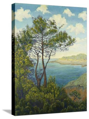 Seafront in Bretagne-Paul Ranson-Stretched Canvas Print
