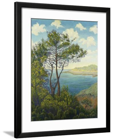 Seafront in Bretagne-Paul Ranson-Framed Art Print