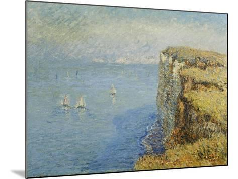Cliffs in Normandy-Gustave Loiseau-Mounted Giclee Print