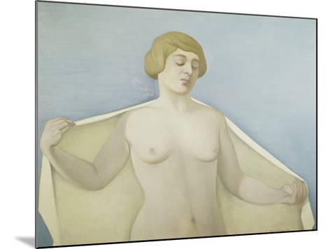 Out of the Bath-F?lix Vallotton-Mounted Giclee Print