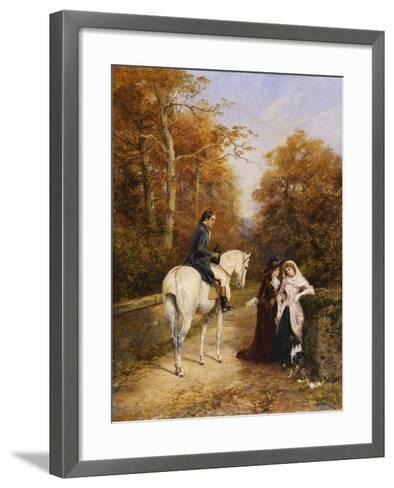 The Peacemaker-Heywood		 Hardy-Framed Art Print
