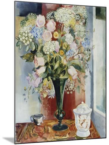 Summer Flowers in a Vase-Arthur Percy-Mounted Giclee Print