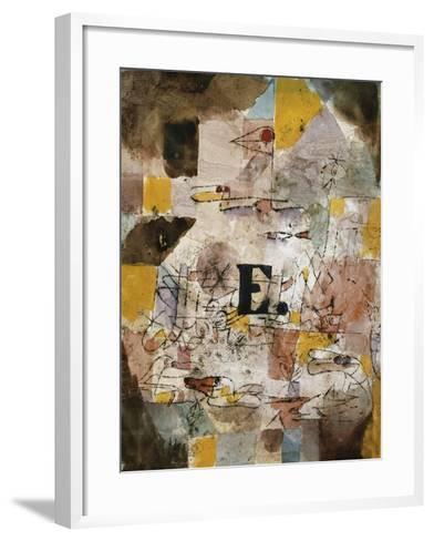 Wasservogel (E. nten)-Paul Klee-Framed Art Print