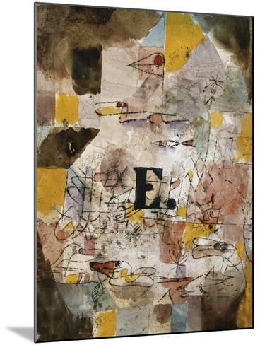 Wasservogel (E. nten)-Paul Klee-Mounted Giclee Print