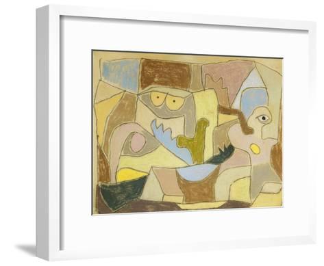 ...True Also for Plants-Paul Klee-Framed Art Print