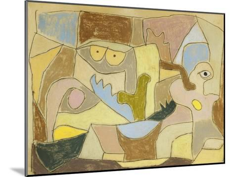 ...True Also for Plants-Paul Klee-Mounted Giclee Print