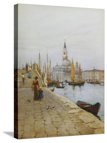 San Giorgio Maggiore from the Zattere, Venice-Helen Allingham-Stretched Canvas Print