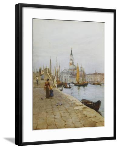San Giorgio Maggiore from the Zattere, Venice-Helen Allingham-Framed Art Print