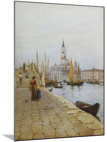 San Giorgio Maggiore from the Zattere, Venice-Helen Allingham-Mounted Giclee Print