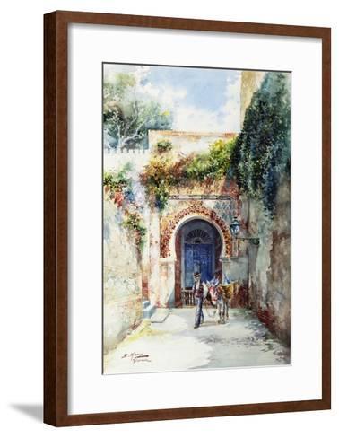 The Water-Seller-Marin Higuero Enrique-Framed Art Print