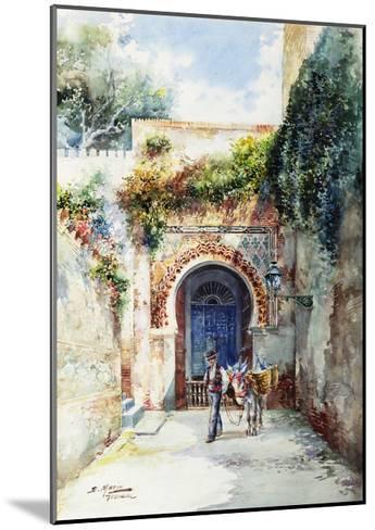The Water-Seller-Marin Higuero Enrique-Mounted Giclee Print