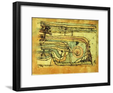 Landscaft im Pankenton-Paul Klee-Framed Art Print