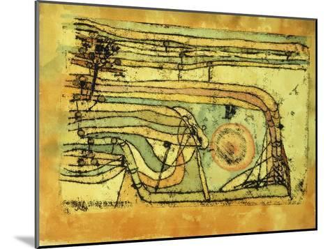 Landscaft im Pankenton-Paul Klee-Mounted Giclee Print