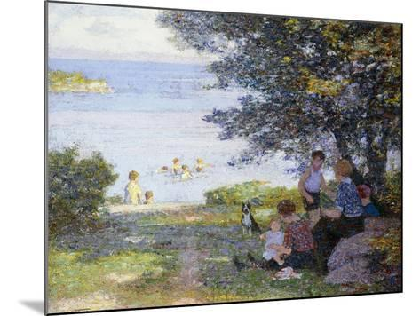 By the Water-Edward Henry Potthast-Mounted Giclee Print