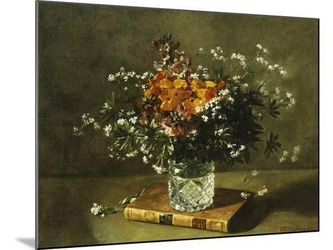 A Floral Still Life-Emile Gustave Couder-Mounted Giclee Print