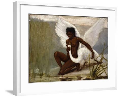 Diana Bathing-Jacques Fernand Hymbert-Framed Art Print