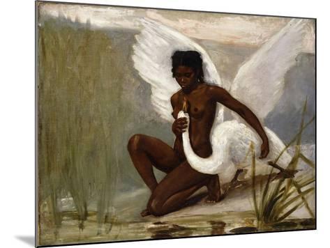 Diana Bathing-Jacques Fernand Hymbert-Mounted Giclee Print