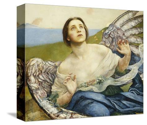 The Sense of Sight-Annie Louisa		 Swynnerton-Stretched Canvas Print