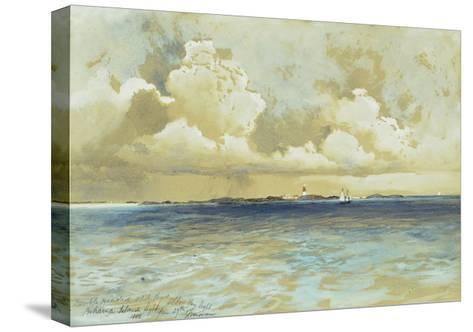 Bahama Island Light-Thomas Moran-Stretched Canvas Print