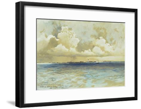 Bahama Island Light-Thomas Moran-Framed Art Print
