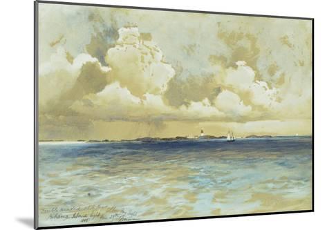 Bahama Island Light-Thomas Moran-Mounted Giclee Print