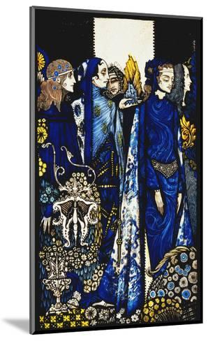 Seven dog-days we let pass, naming Queens in Glenmacnass'-Harry		 Clarke-Mounted Giclee Print