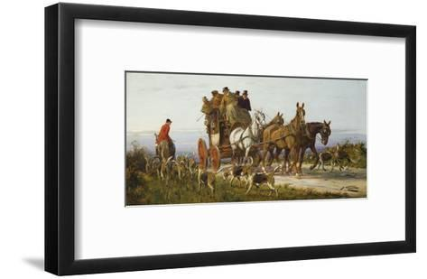 Passing the Hunt-George Wright-Framed Art Print